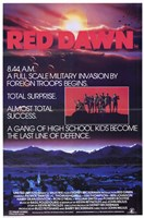 Red Dawn Wall Poster