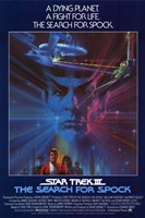 Star Trek 3: the Search for Spock Wall Poster