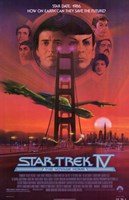 Star Trek 4: the Voyage Home Wall Poster