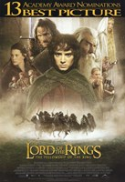 Lord of the Rings: Fellowship of the Ring Best Picture Fine-Art Print