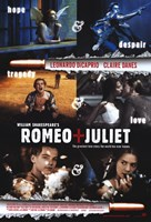 William Shakespeare's Romeo Juliet Scenes Wall Poster