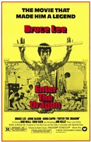 Enter the Dragon Yellow Wall Poster