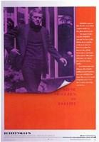 Bullitt Purple Wall Poster