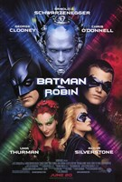 Batman and Robin Movie Wall Poster
