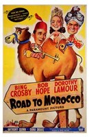 Road to Morocco Wall Poster