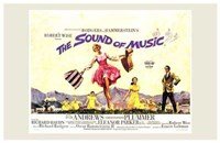 The Sound of Music Horizontal Musical Wall Poster