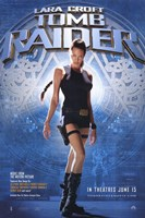 Lara Croft: Tomb Raider Film Wall Poster
