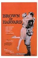 Brown of Harvard Wall Poster