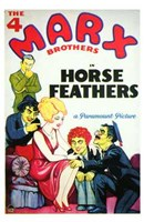 Horse Feathers By Paramount Wall Poster
