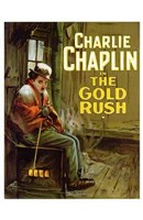 The Gold Rush Cold Charlie Chaplin Wall Poster