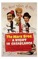 Night in Casablanca Wall Poster