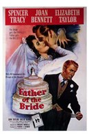 Father of the Bride Spencer Tracy Wall Poster