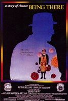 Being There Story of Change with Peter Sellers Wall Poster