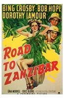 Road to Zanzibar Wall Poster