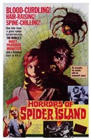 Horrors of Spider Island Wall Poster
