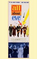 All About Eve Color George Sanders Wall Poster