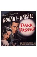 Dark Passage - square Wall Poster