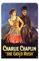 The Gold Rush Flapper Wall Poster