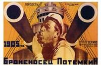 The Battleship Potemkin Russian Wall Poster