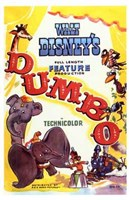 Dumbo Drawing Wall Poster