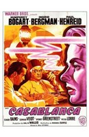 Casablanca Warner Brothers Wall Poster
