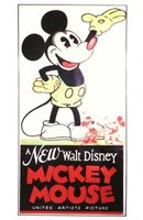 A New Walt Disney Mickey Mouse Wall Poster
