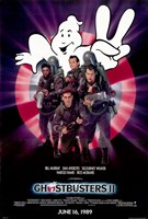 Ghostbusters 2 Cast Wall Poster