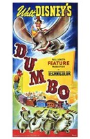Dumbo Walt Disney Wall Poster