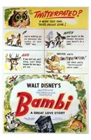 Bambi Scenes Wall Poster