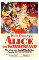Alice in Wonderland Disney Fine-Art Print