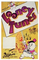 Looney Tunes Porky Pig Wall Poster