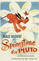Springtime for Pluto Wall Poster