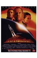 Armageddon Bruce Willis Wall Poster