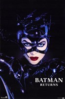 Batman Returns Catwoman Wall Poster