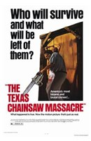The Texas Chainsaw Massacre Who Will Survive Wall Poster
