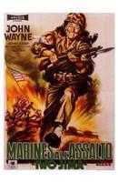 Sands of Iwo Jima Wall Poster