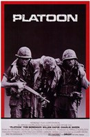 Platoon Carrying Soldier Wall Poster