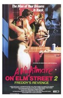 Nightmare on Elm Street 2: Freddy's Reve Wall Poster