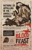 Blood Feast Wall Poster