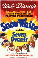 Snow White and the Seven Dwarfs 1st Full Length Fine-Art Print