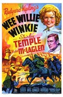 Wee Willie Winkie with scenes Wall Poster