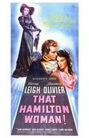 That Hamilton Woman Wall Poster