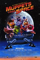 Muppets from Space Wall Poster