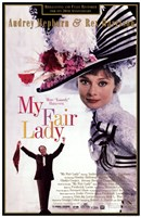 My Fair Lady DVD Wall Poster