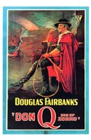 Don Q Son of Zorro Wall Poster