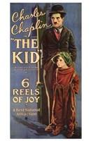 The Kid Charles Chaplin Wall Poster