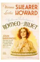 Romeo and Juliet Shearer & Howard Wall Poster