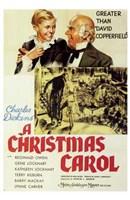 A Christmas Carol Wall Poster