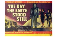 The Day the Earth Stood Still Horizontal Wall Poster