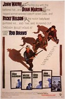 Rio Bravo - characters Wall Poster